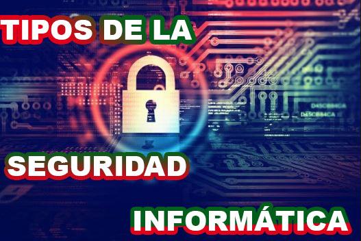 tipos de la seguridad informática