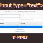 """input type=""""text"""""""