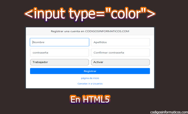 """input type=""""color"""""""