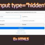 """input type=""""hidden"""""""