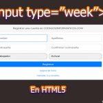 """input type=""""week"""""""